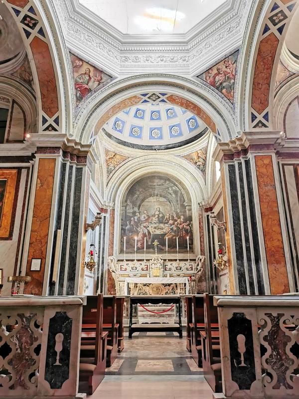 Il cappellone del Santissimo Sacramento, Cattedrale di Brindisi. Foto © Mauro Orrico