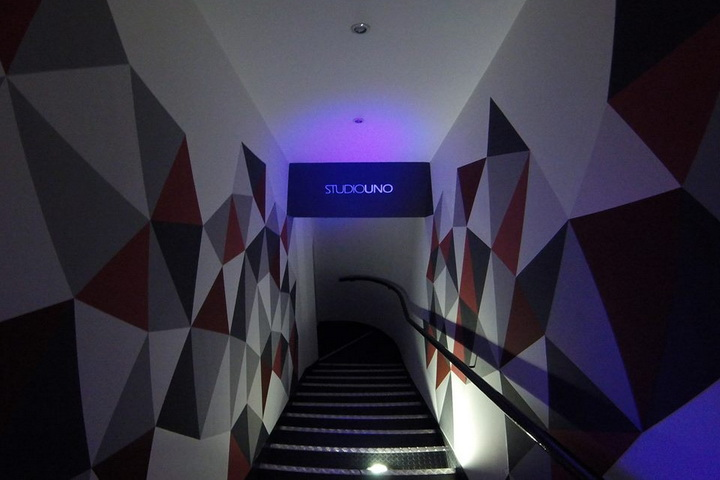 Motorefisico. Design di interni per Studio Uno.