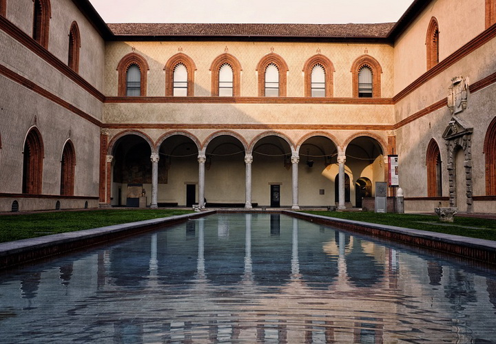 Castello Sforzesco. Foto: Pixabay