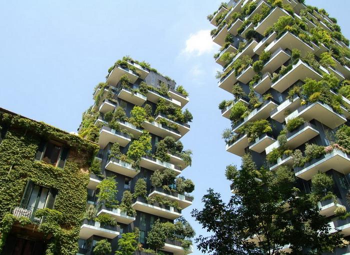 Il Bosco verticale a Milano (Unsplash)