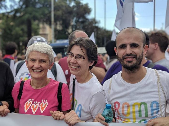 Da sinistra: Marilena Grassadonia, Rossana Praitano, Sebastiano Secci.
