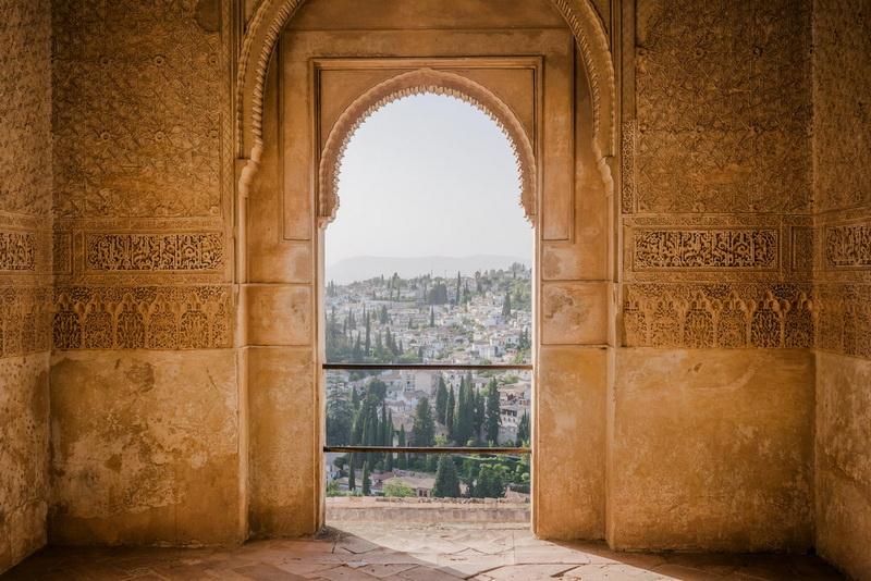 Paseo del Generalife