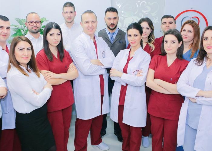 Lo staff di Impladent a Tirana