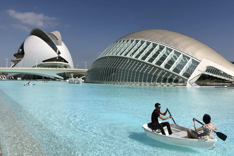 The city of Arts and Science, di Santiago Calatrava