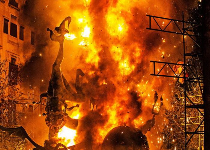 Las Fallas. Foto: Worldtravelguide