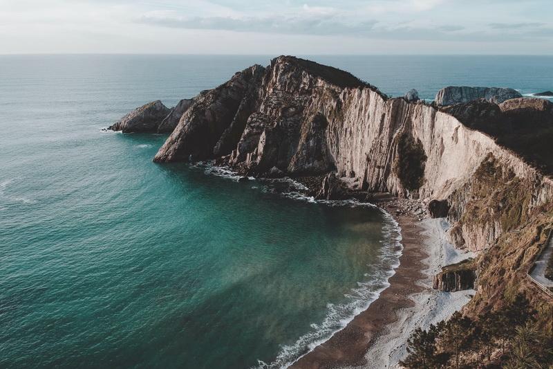 Playa del Silencio, Castañeras