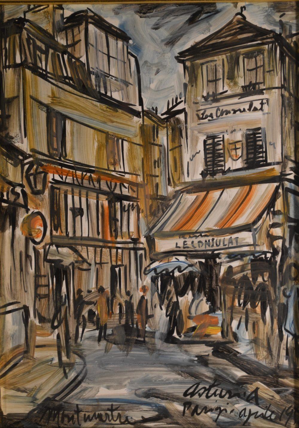 'Montmartre' di Antonio Asturi