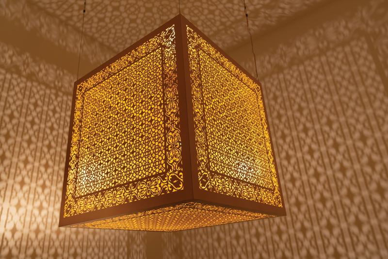Anila Agha, Hidden Diamond - Saffron, 2019 © Riyadh Art