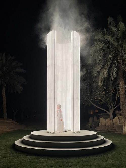 Karolina Halatek Beacon, 2021 © Riyadh Art