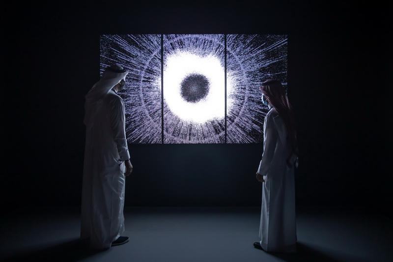 Leo Villareal Corona, 2018 © Riyadh Art