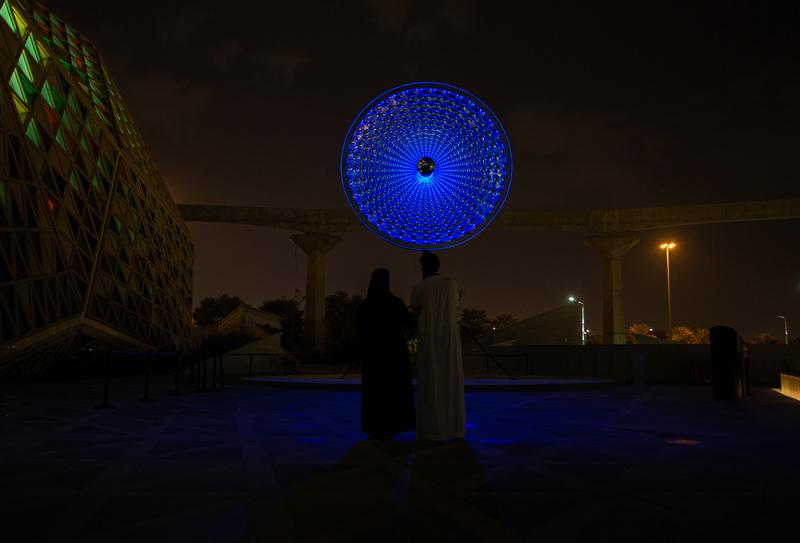 Robert Wilson DAYDREAM, 2021 © Riyadh Art