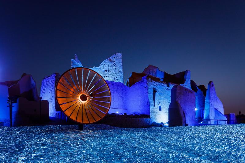 Robert Wilson, Palace of Light, 2021 © Riyadh Art 2021